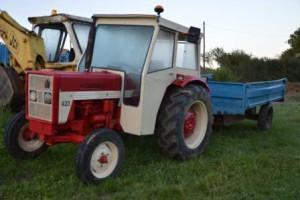 Le tracteur!